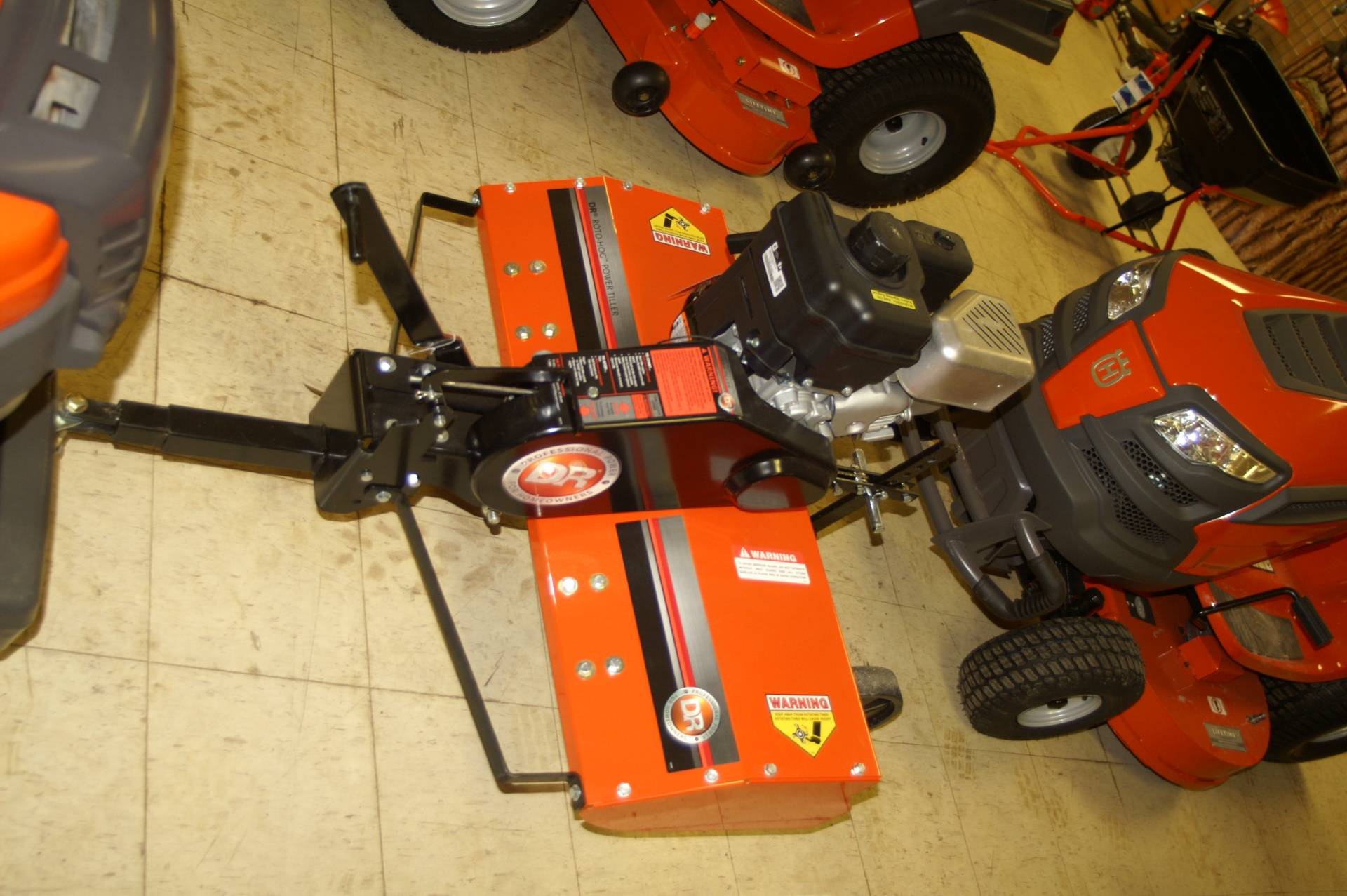 2015 DR Power Equipment Roto-Hog™ Premier, Tow-Behind, Manual-Start in Bigfork, Minnesota