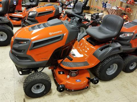 2018 Husqvarna Power Equipment YTH20K42 Lawn Tractor Kohler Electric in Bigfork, Minnesota