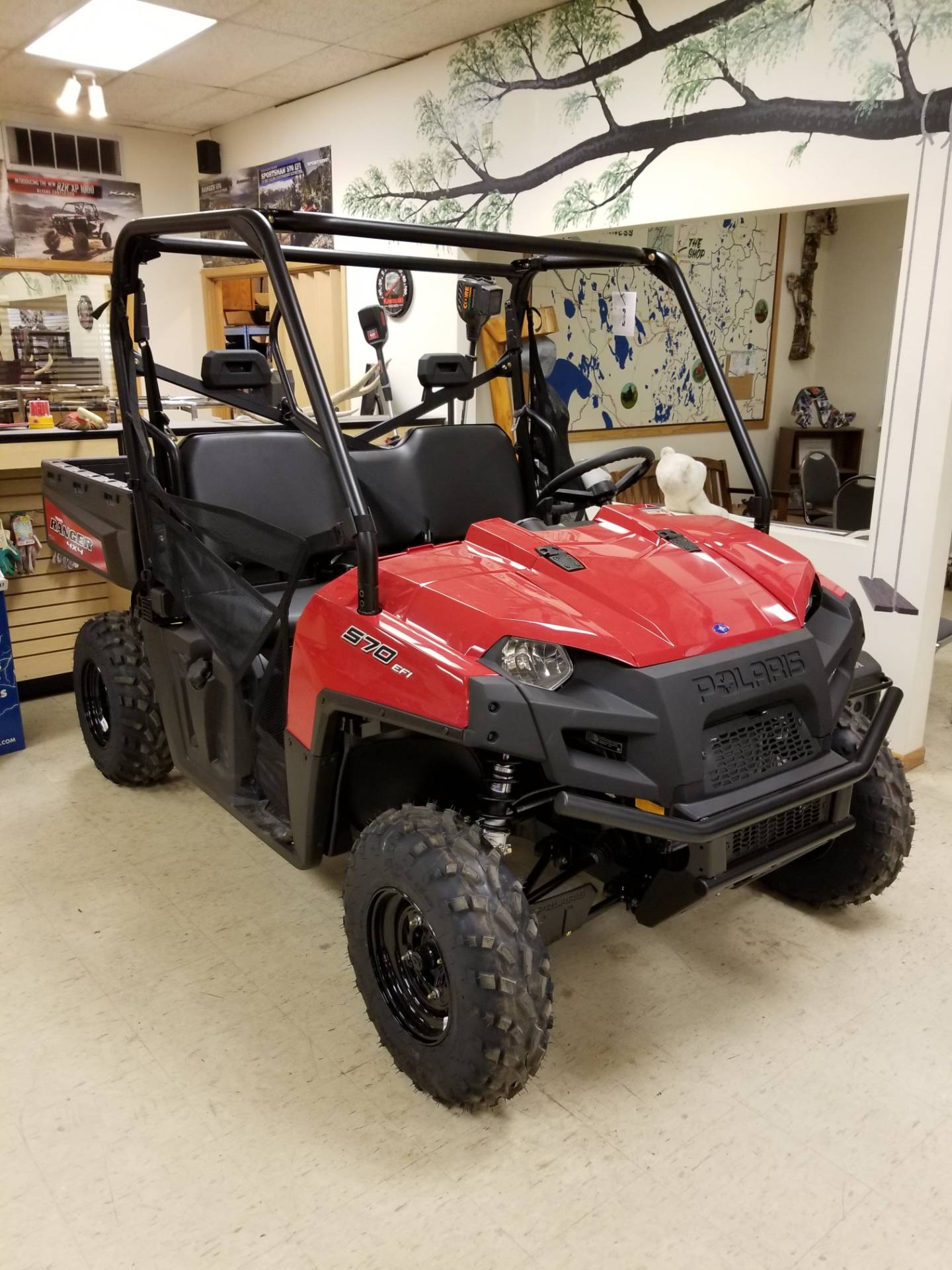 2019 Polaris Ranger 570 Full-Size in Bigfork, Minnesota - Photo 1