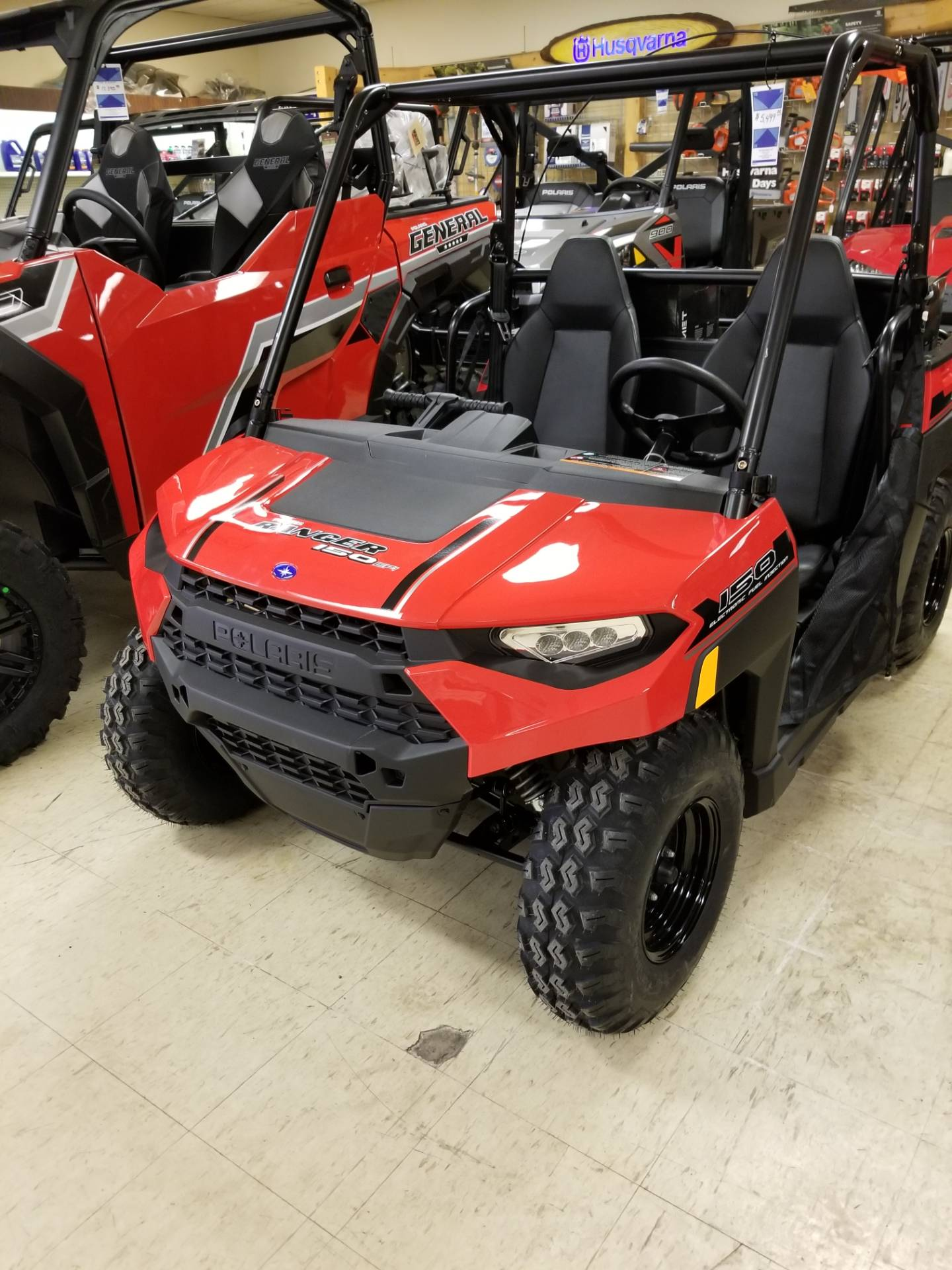2019 Polaris Ranger 150 EFI in Bigfork, Minnesota - Photo 2