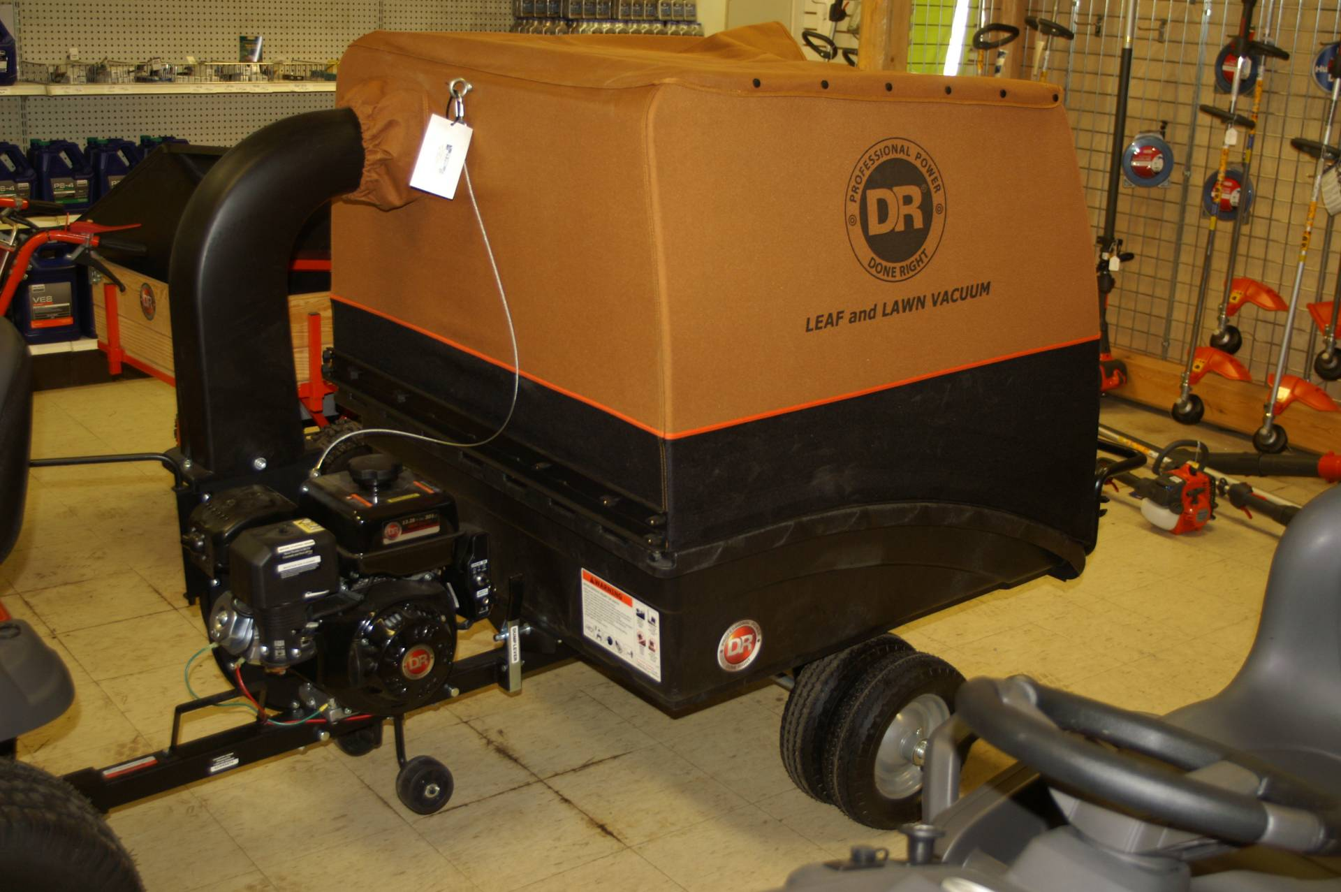 2015 DR Power Equipment 9.59 Premier Tow-Behind in Bigfork, Minnesota