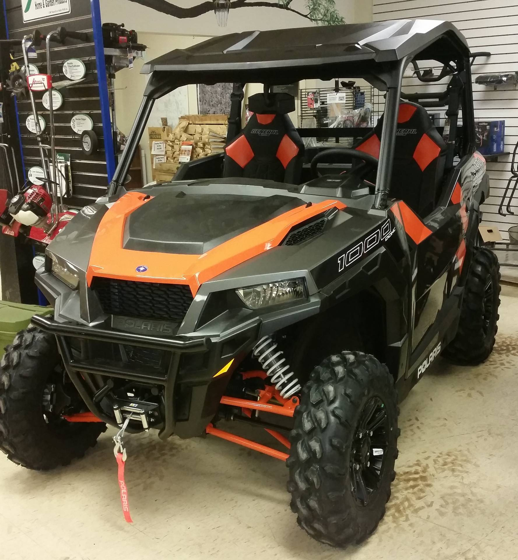 2018 Polaris General 1000 EPS Deluxe in Bigfork, Minnesota