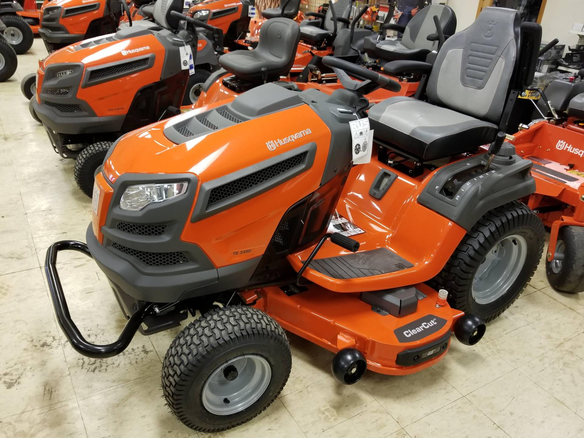 2018 Husqvarna Power Equipment TS 348D Lawn Tractor Kohler in Bigfork, Minnesota - Photo 1
