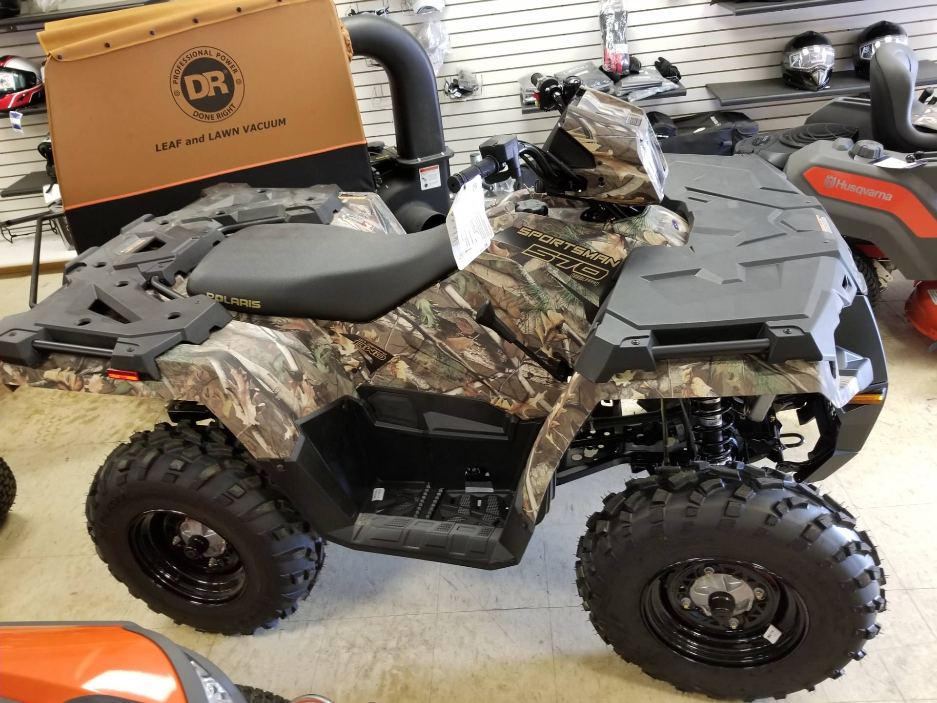 2019 Polaris Sportsman 570 EPS Camo in Bigfork, Minnesota - Photo 1
