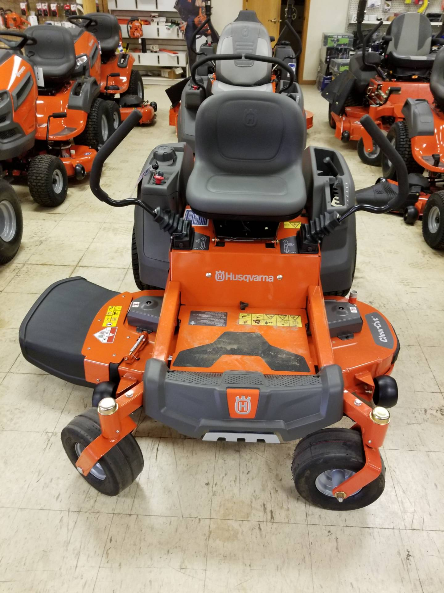 2018 Husqvarna Power Equipment Z248F Zero-Turn Mower Briggs & Stratton in Bigfork, Minnesota - Photo 1