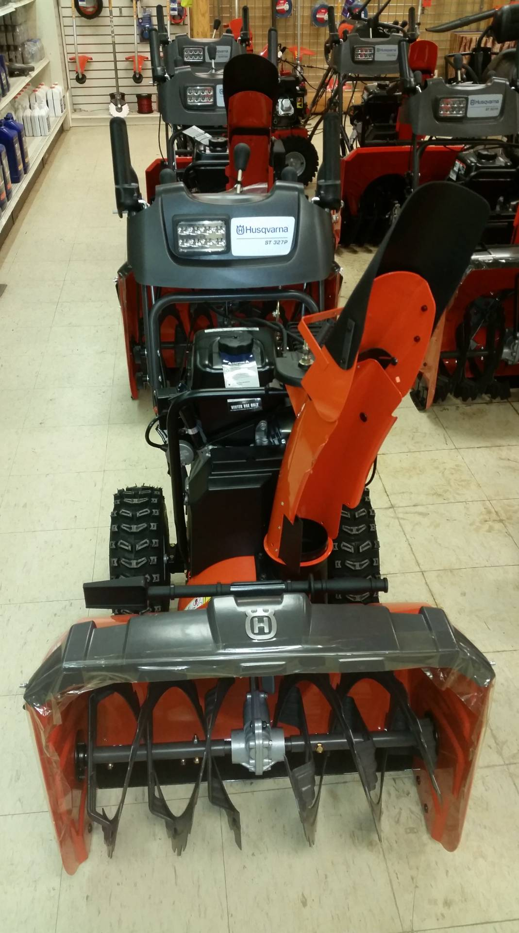 2017 Husqvarna Power Equipment ST 327P (961 93 00-92) in Bigfork, Minnesota