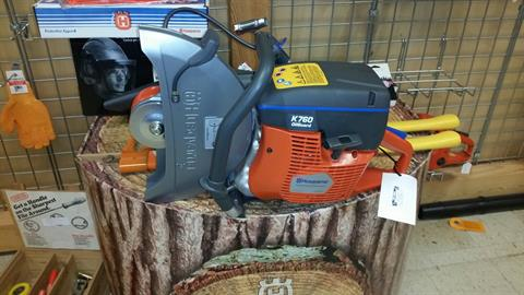 2015 Husqvarna Power Equipment K 760 with OilGuard in Bigfork, Minnesota