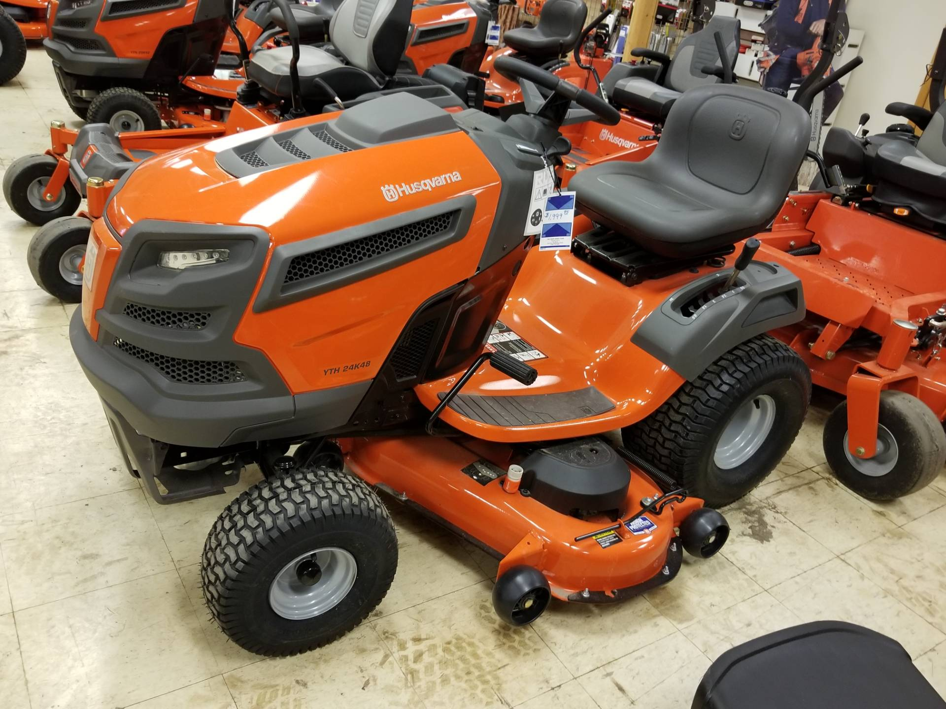 2018 Husqvarna Power Equipment YTH24K48 Kohler (960 43 02-78) in Bigfork, Minnesota
