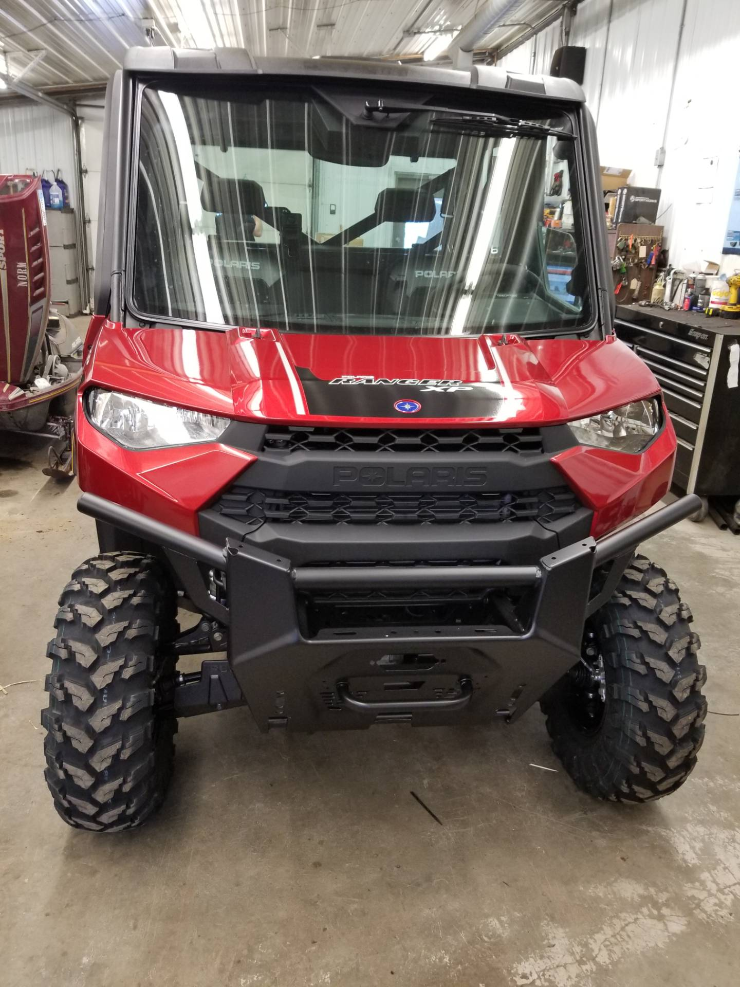 2019 Polaris Ranger Crew XP 1000 EPS NorthStar HVAC Edition in Bigfork, Minnesota - Photo 2