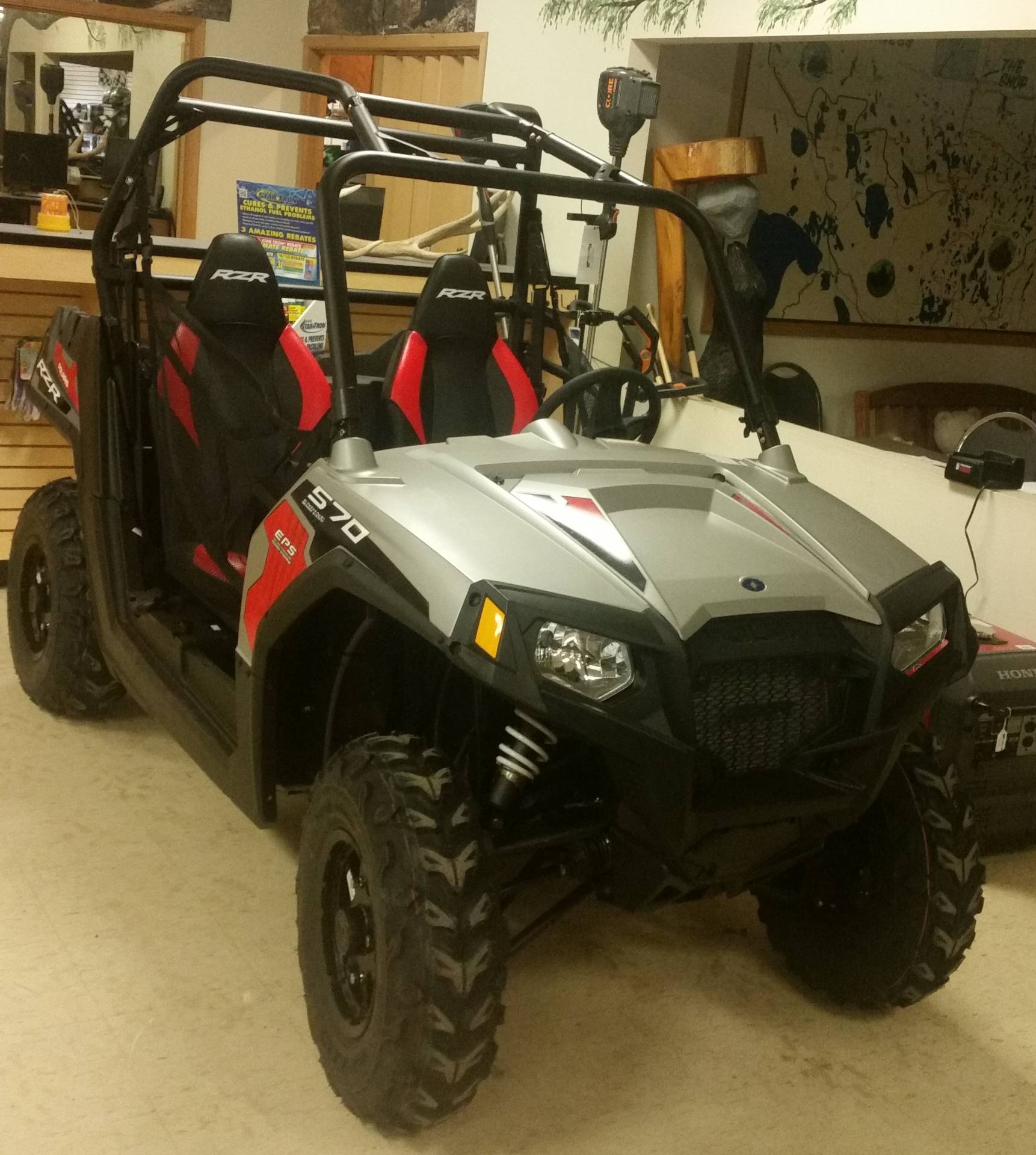2017 Polaris RZR 570 EPS in Bigfork, Minnesota