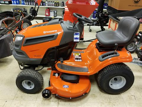2018 Husqvarna Power Equipment YTH22V46 Lawn Tractor Briggs & Stratton in Bigfork, Minnesota - Photo 1