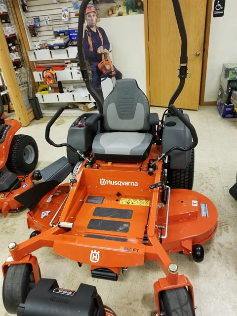 2018 Husqvarna Power Equipment MZ 61 Zero-Turn Mower Kawasaki in Bigfork, Minnesota