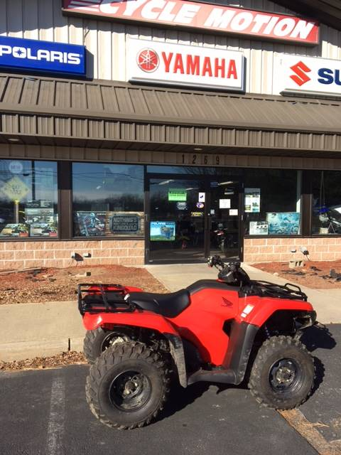 2017 Honda FourTrax Rancher 4x4 DCT EPS in Middletown, New York