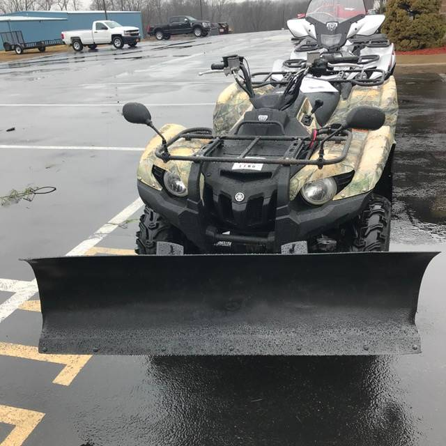 2012 Yamaha Grizzly 550 FI Auto. 4x4 EPS in Middletown, New York