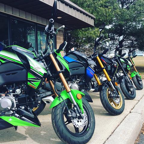 2018 Kawasaki Z125 Pro KRT Edition in Middletown, New York