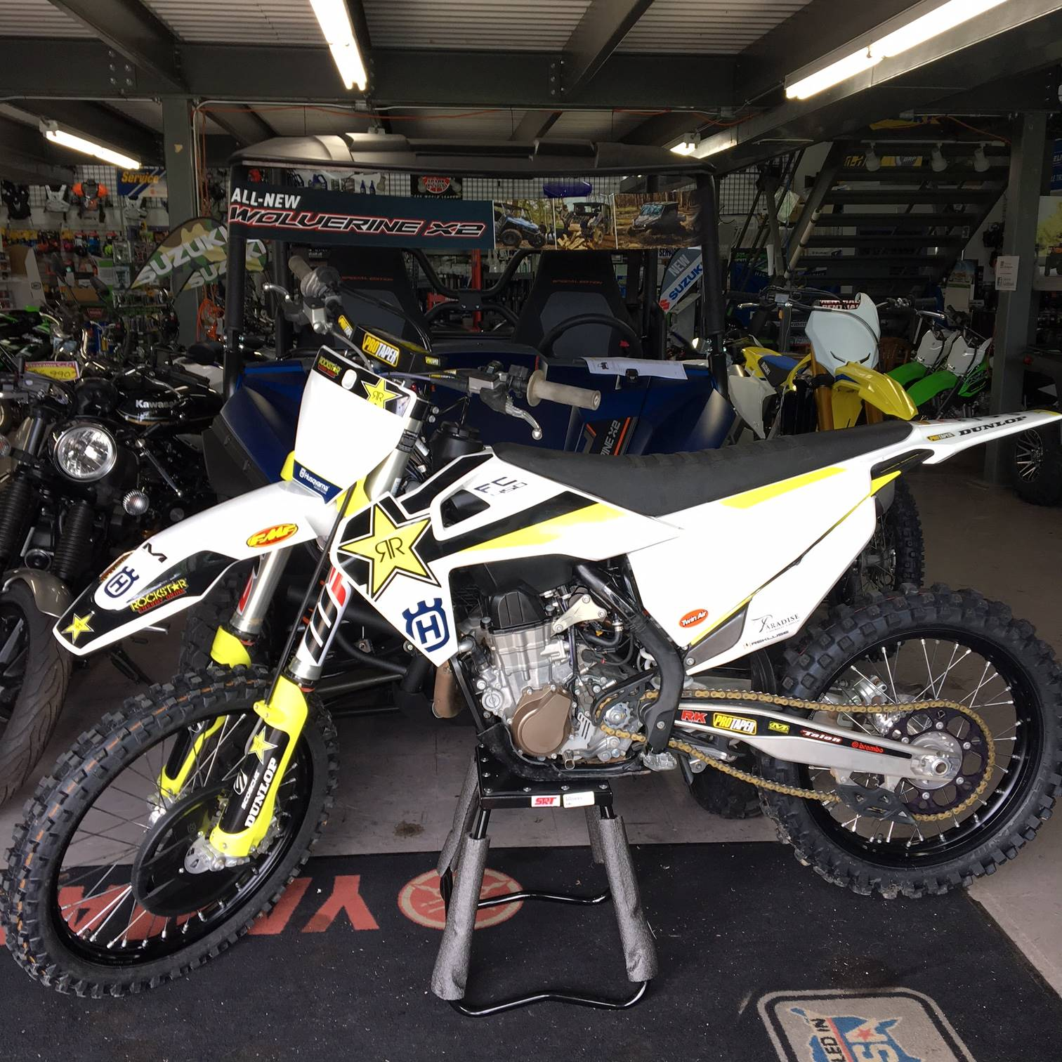 2018 Husqvarna FC 450 Rockstar Edition in Middletown, New York