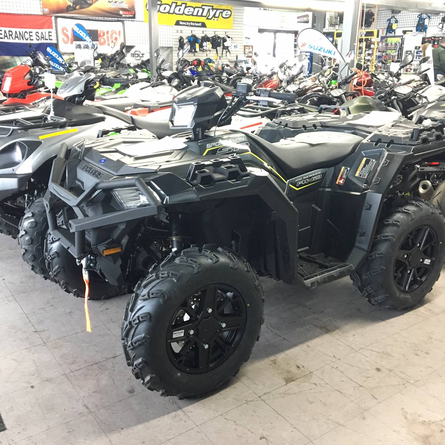 2019 Polaris Sportsman 850 SP Premium in Middletown, New York - Photo 1