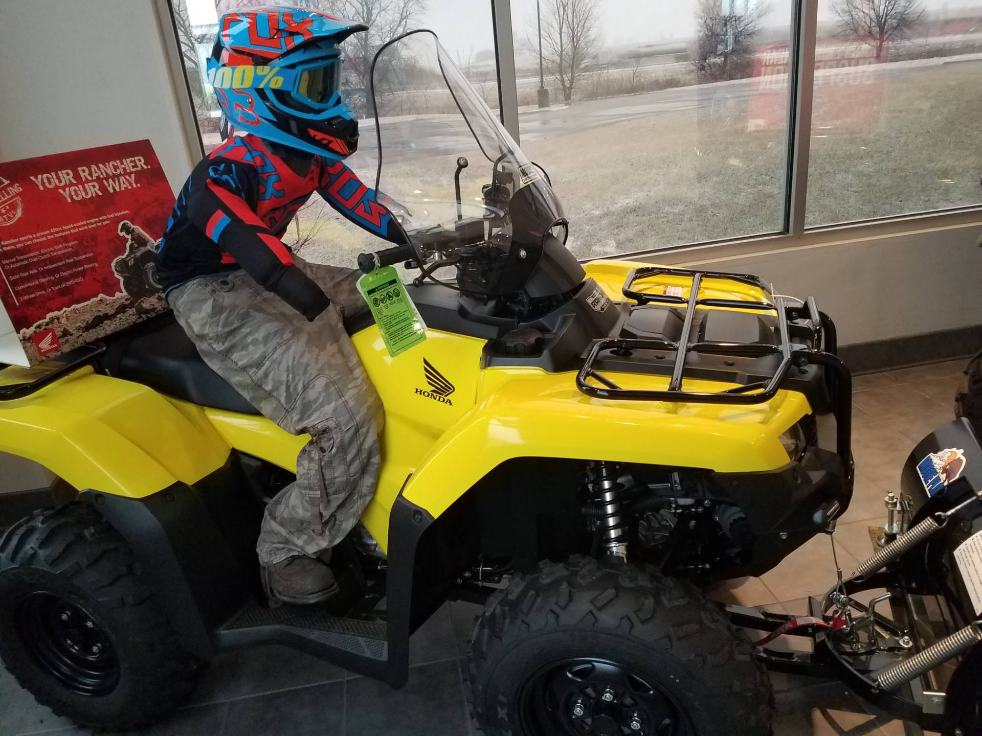 2018 Honda FourTrax Rancher 4x4 DCT IRS EPS in Davenport, Iowa