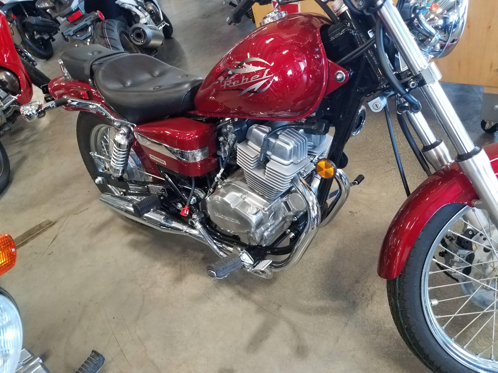New 2016 Honda Rebel Motorcycles in Davenport IA
