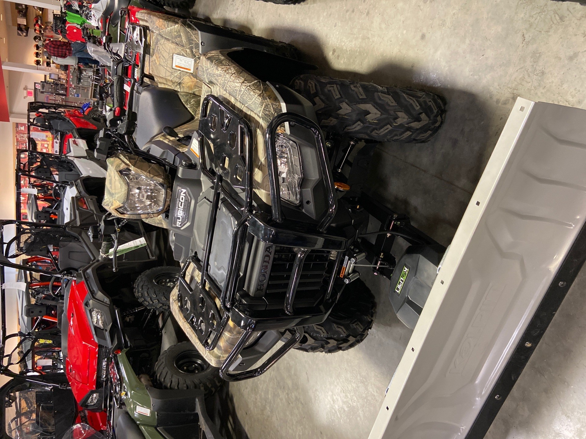2020 Honda FourTrax Foreman Rubicon 4x4 Automatic DCT EPS Deluxe in Davenport, Iowa - Photo 2