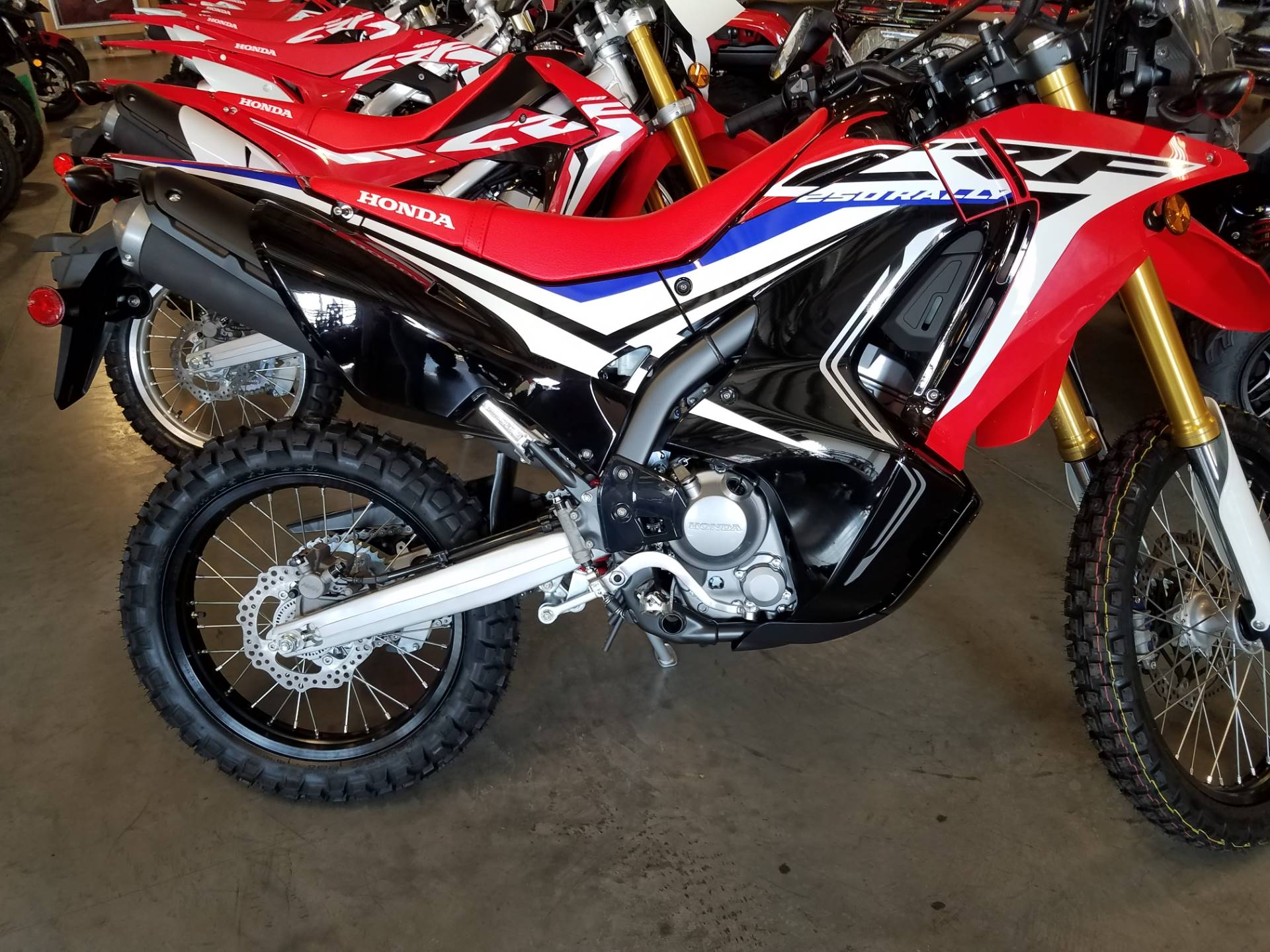 2017 Honda CRF250L Rally ABS in Davenport, Iowa - Photo 1