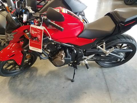 2017 Honda CB500F in Davenport, Iowa