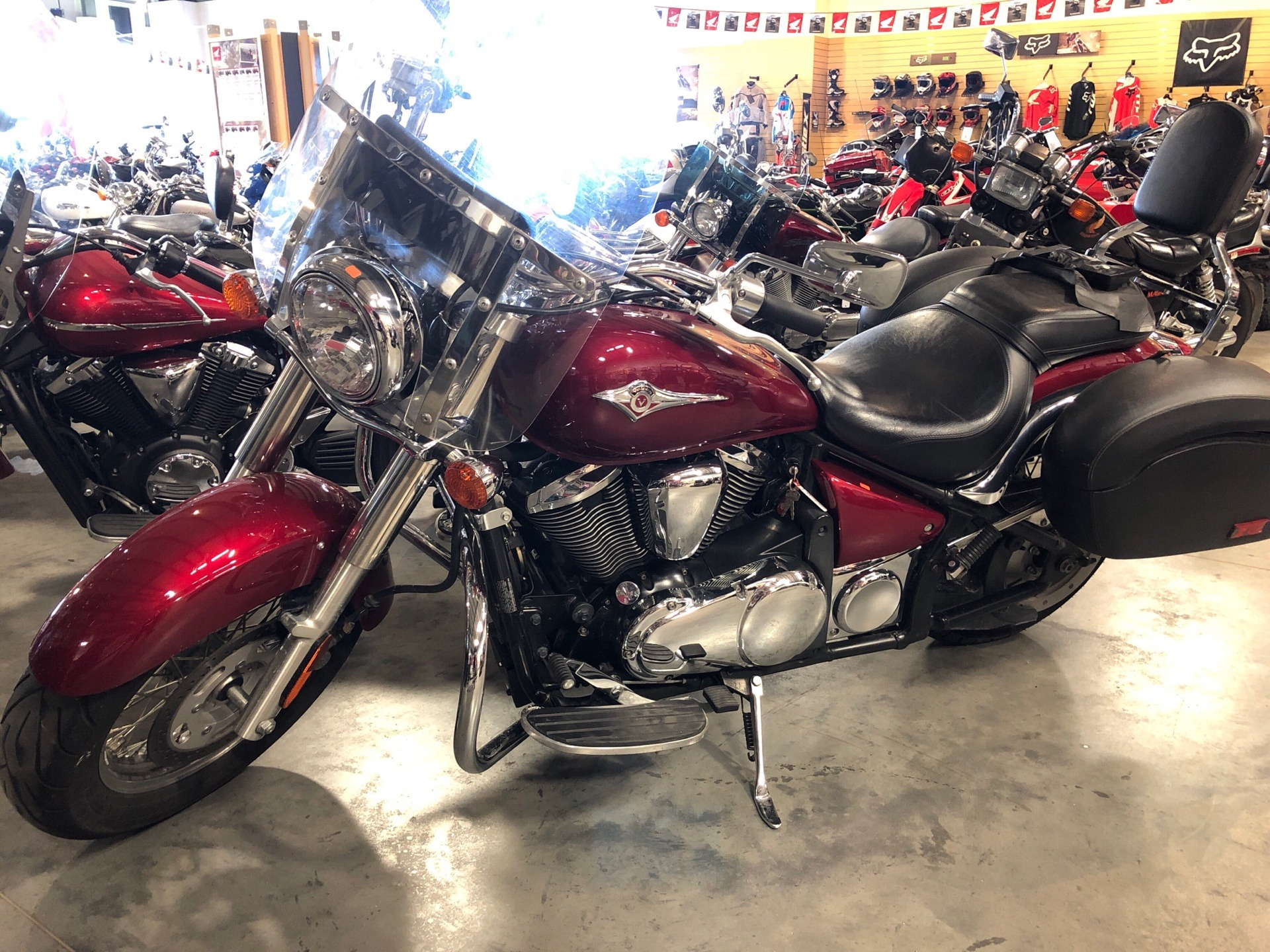 2007 Kawasaki Vulcan® 900 Classic in Davenport, Iowa - Photo 1