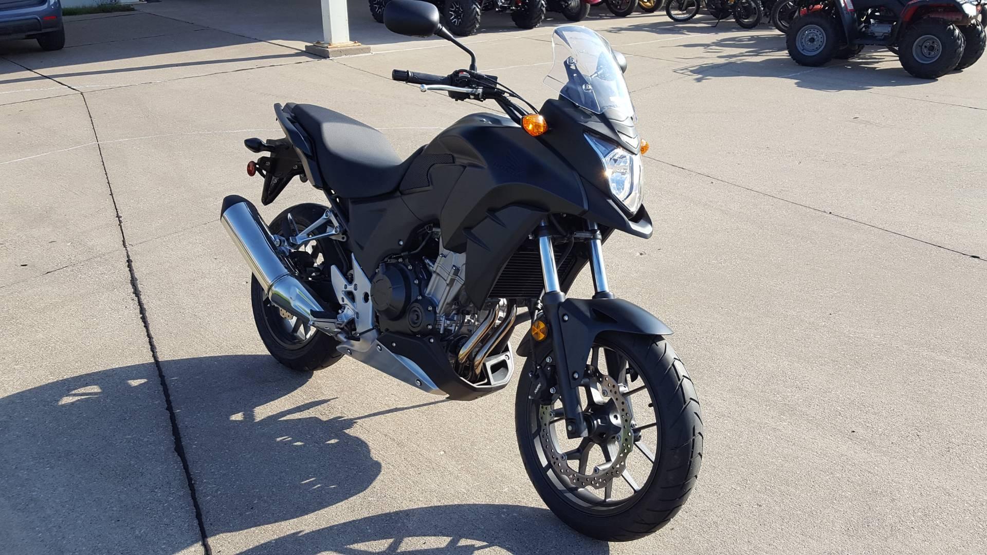 Used 2015 Honda CB500X Motorcycles in Davenport IA