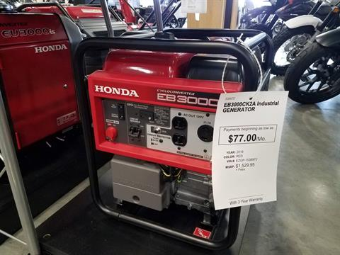 2016 Honda Power Equipment EB3000c in Davenport, Iowa