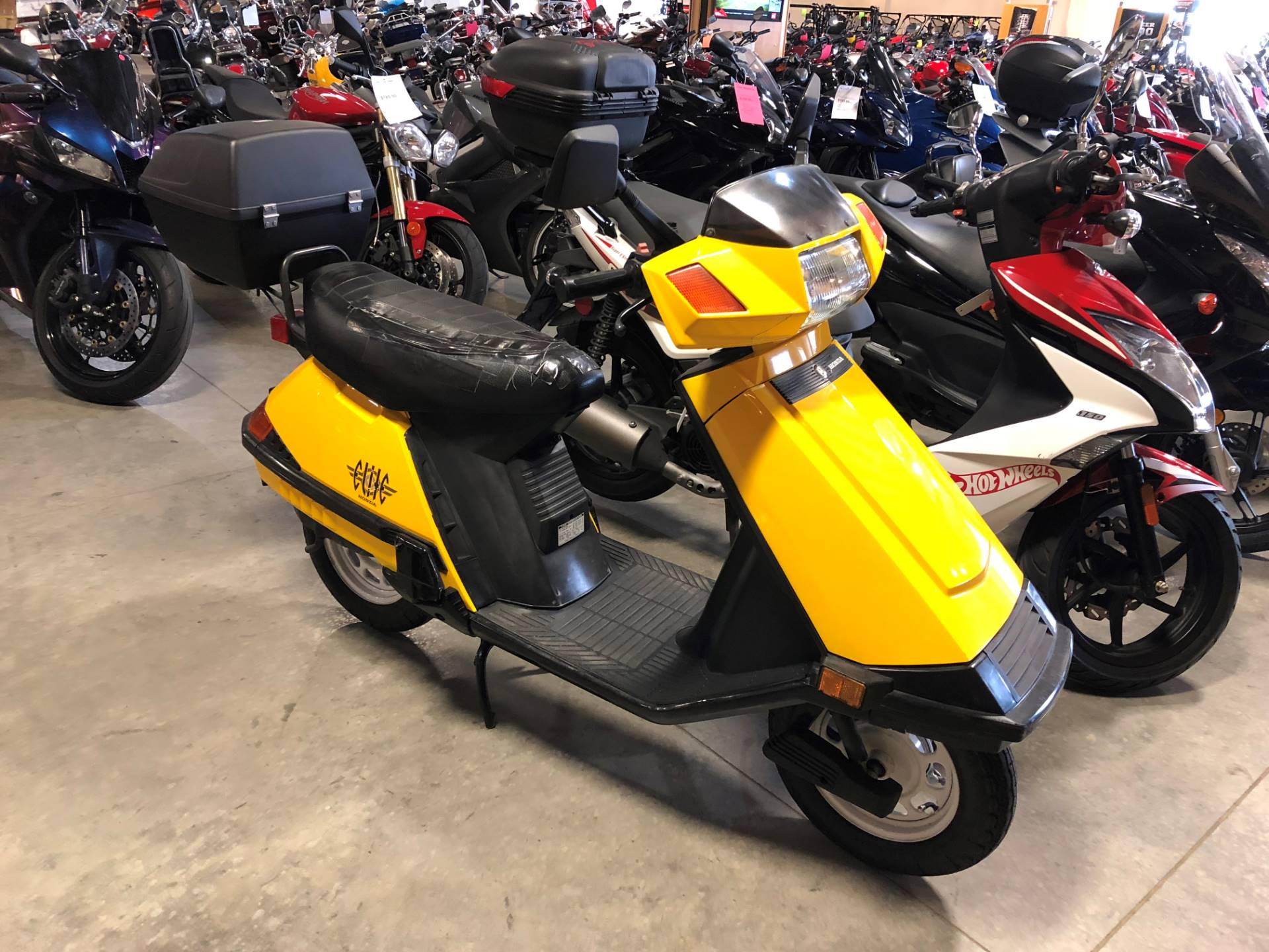 2001 Honda Elite 80 Scooter Starts And Runs For Wiring Schematic Used Scooters In Davenport Ia
