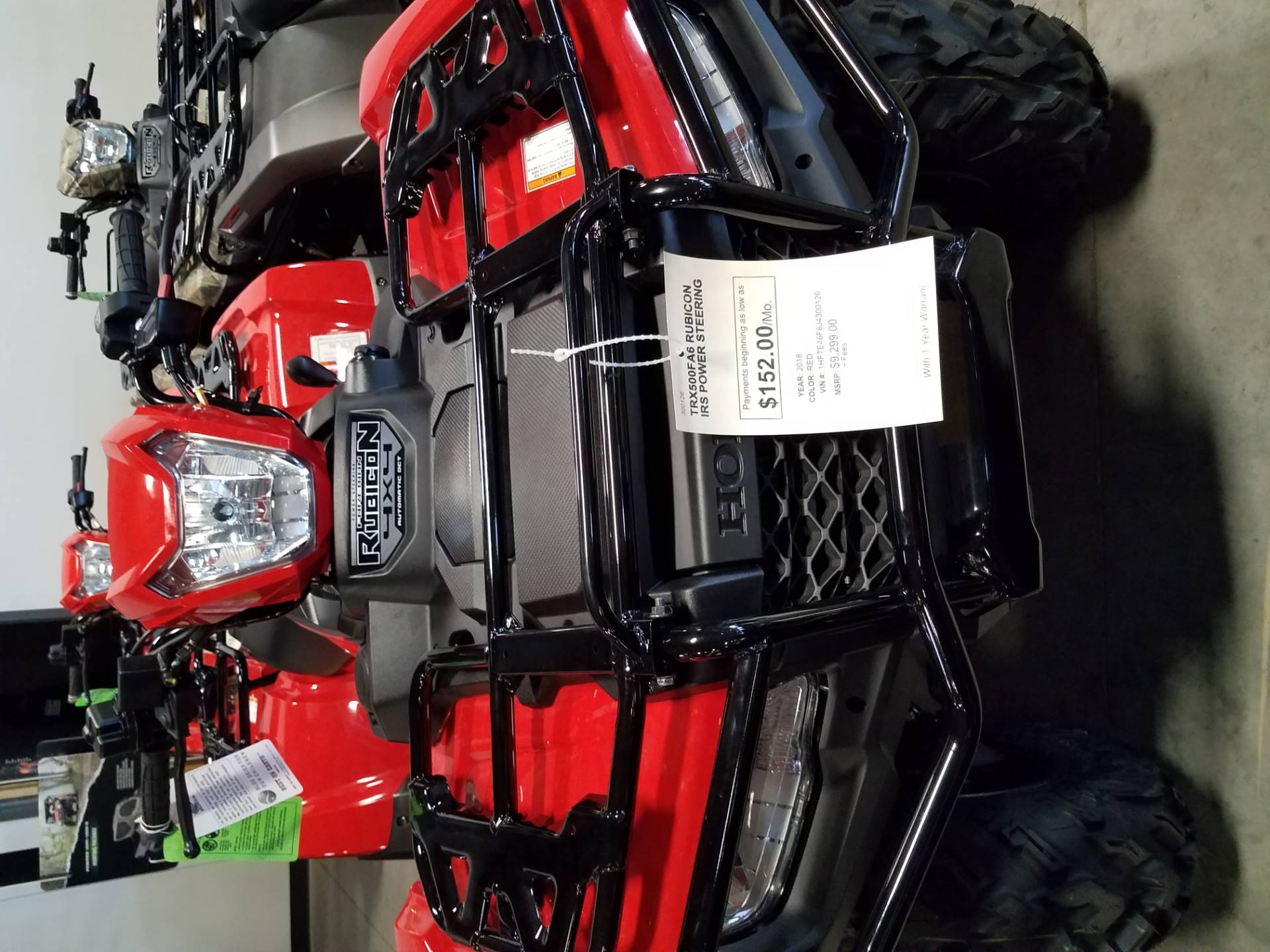 2018 Honda FourTrax Foreman Rubicon 4x4 Automatic DCT EPS in Davenport, Iowa - Photo 2