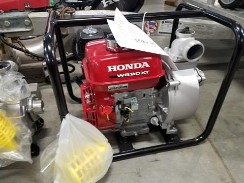 2016 Honda Power Equipment WB20 in Davenport, Iowa