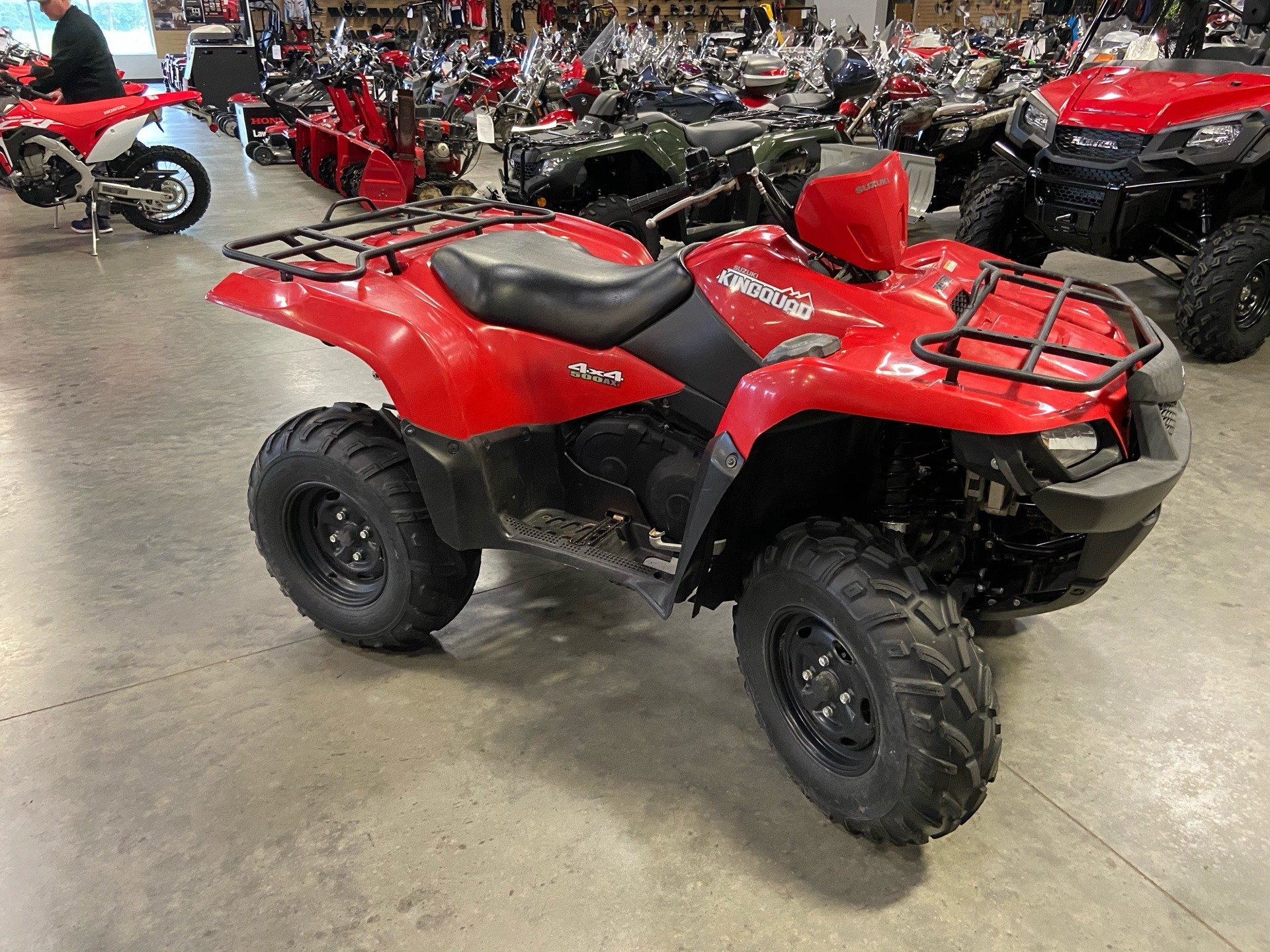 2013 Suzuki KingQuad® 500AXi Power Steering in Davenport, Iowa - Photo 1