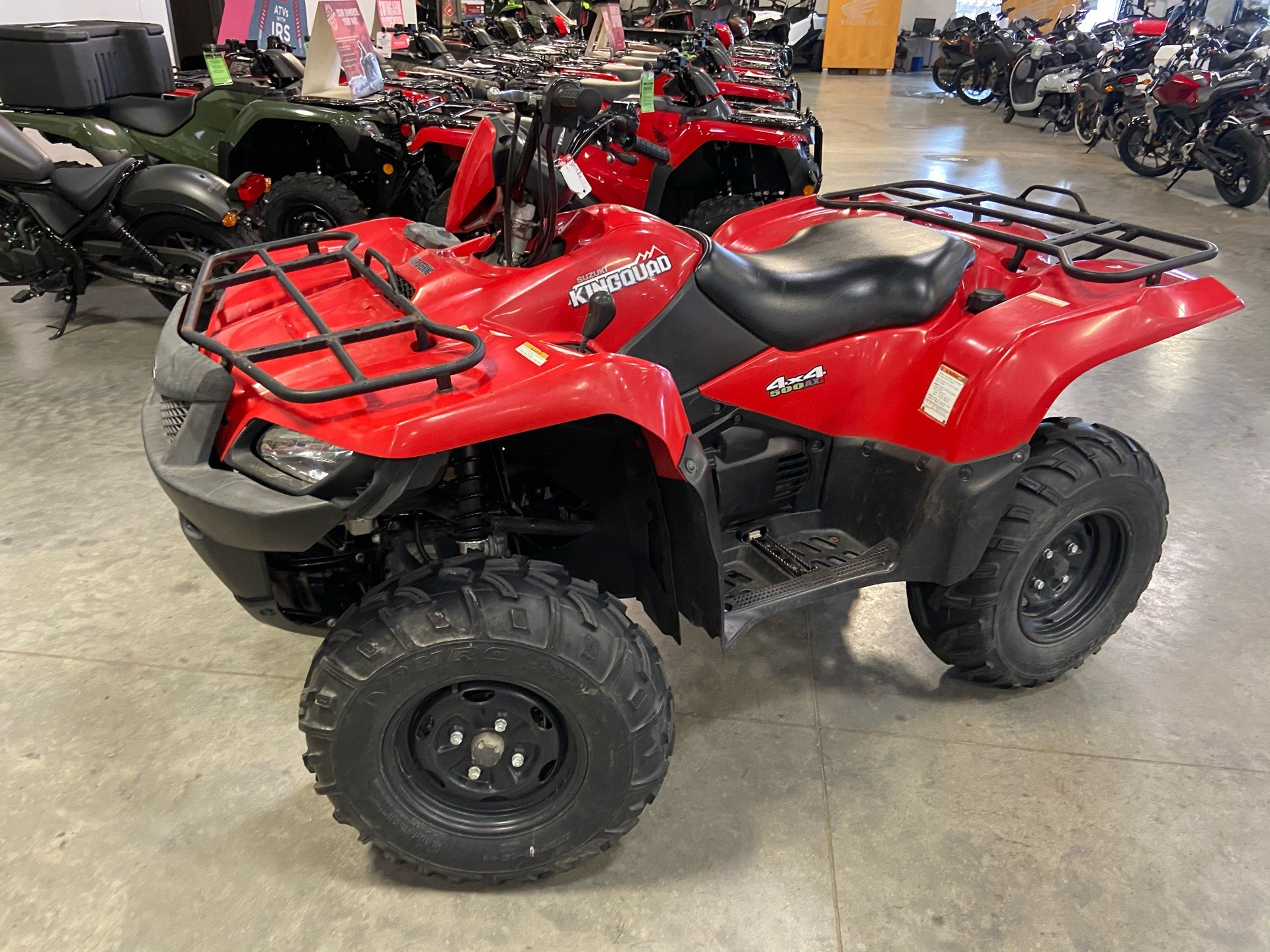 2013 Suzuki KingQuad® 500AXi Power Steering in Davenport, Iowa - Photo 2