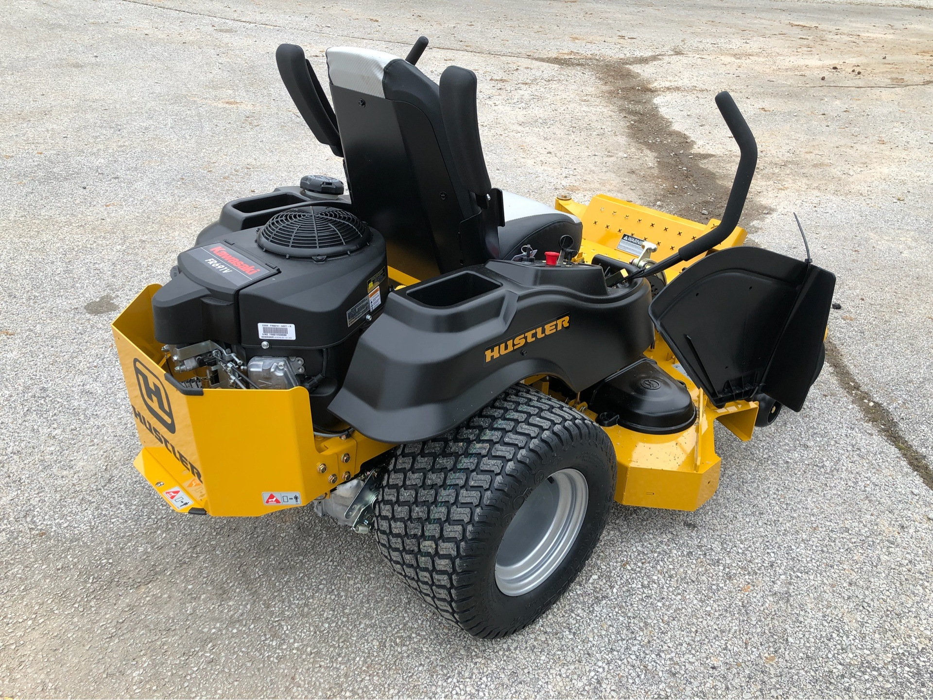 2019 Hustler Turf Equipment Raptor SD 54 in. Kawasaki FR691 in Harrison, Arkansas