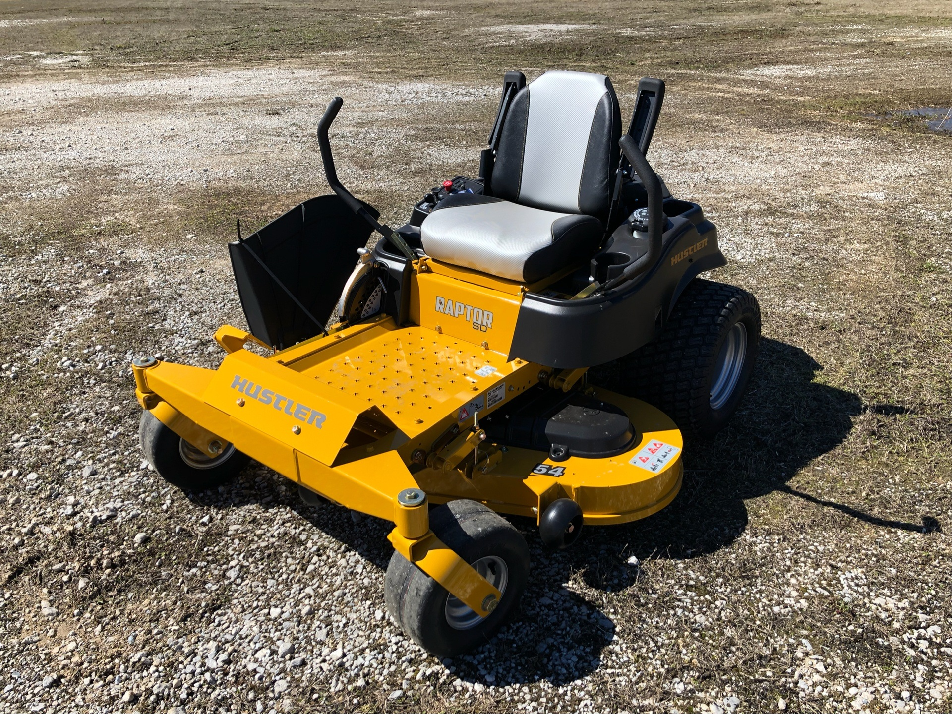 2019 Hustler Turf Equipment Raptor SD 54 in. Kawasaki 23 hp in Harrison, Arkansas - Photo 3