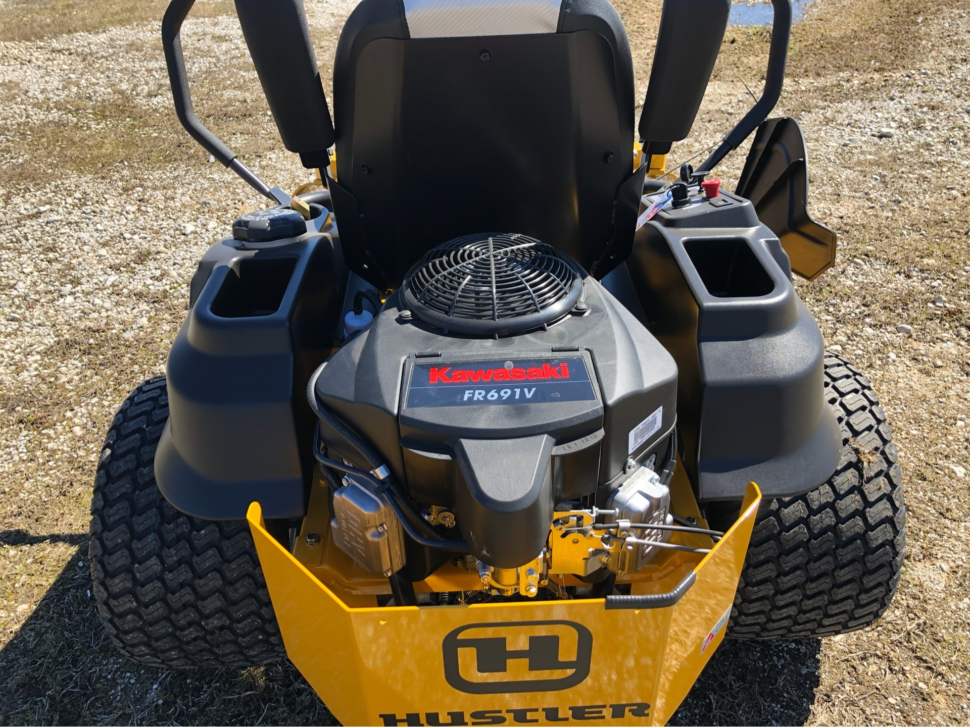 2019 Hustler Turf Equipment Raptor SD 54 in. Kawasaki 23 hp in Harrison, Arkansas - Photo 8