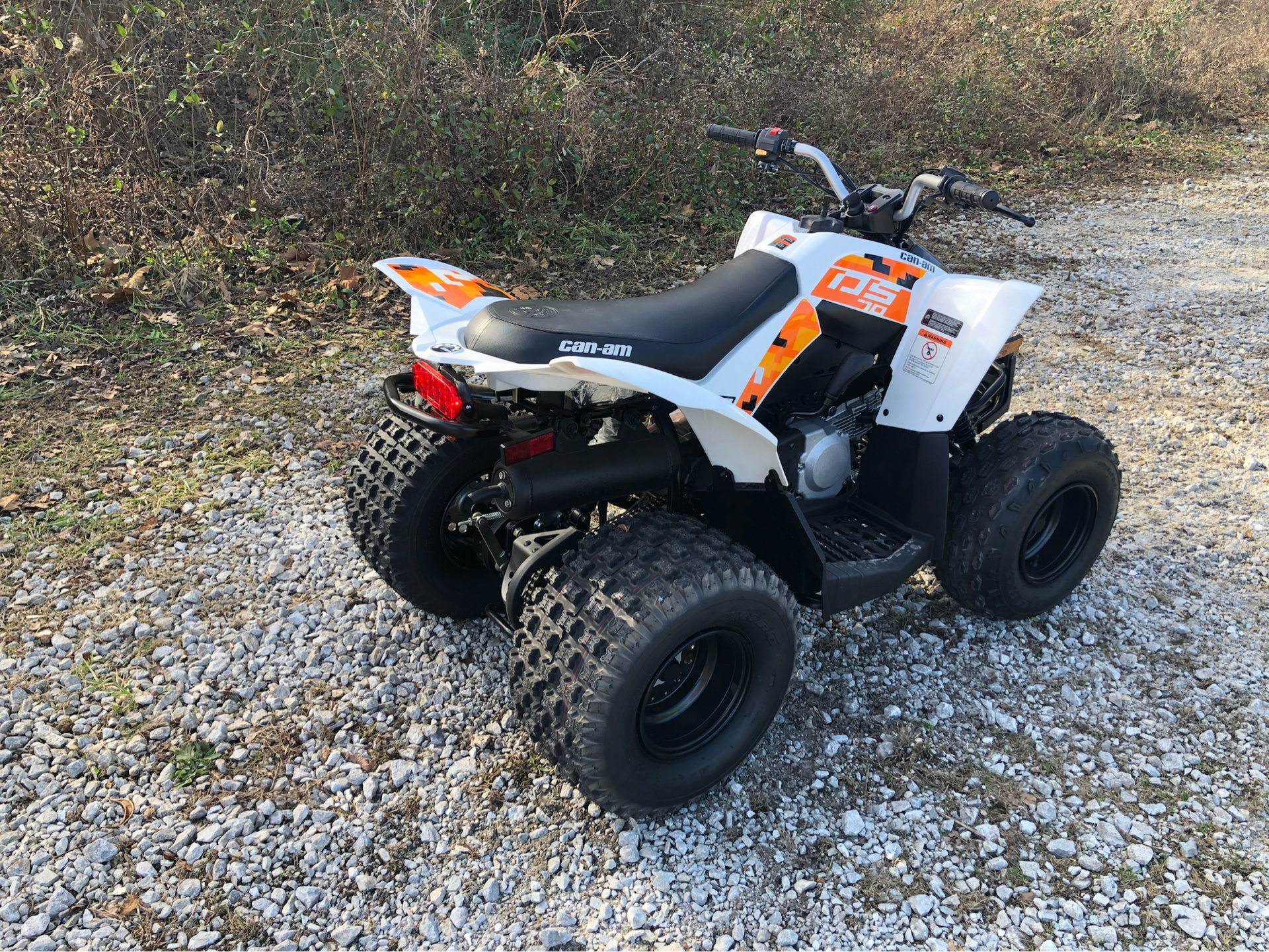 2019 Can-Am DS 70 in Harrison, Arkansas - Photo 4