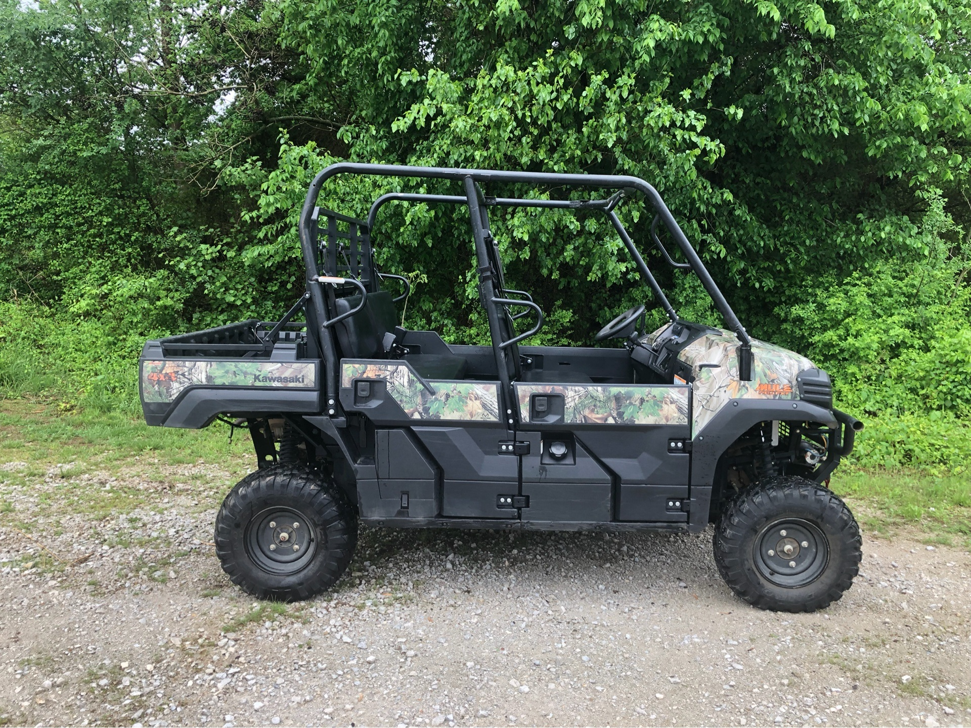 Used 2015 Kawasaki Mule PRO-FXT™ EPS Camo Utility Vehicles