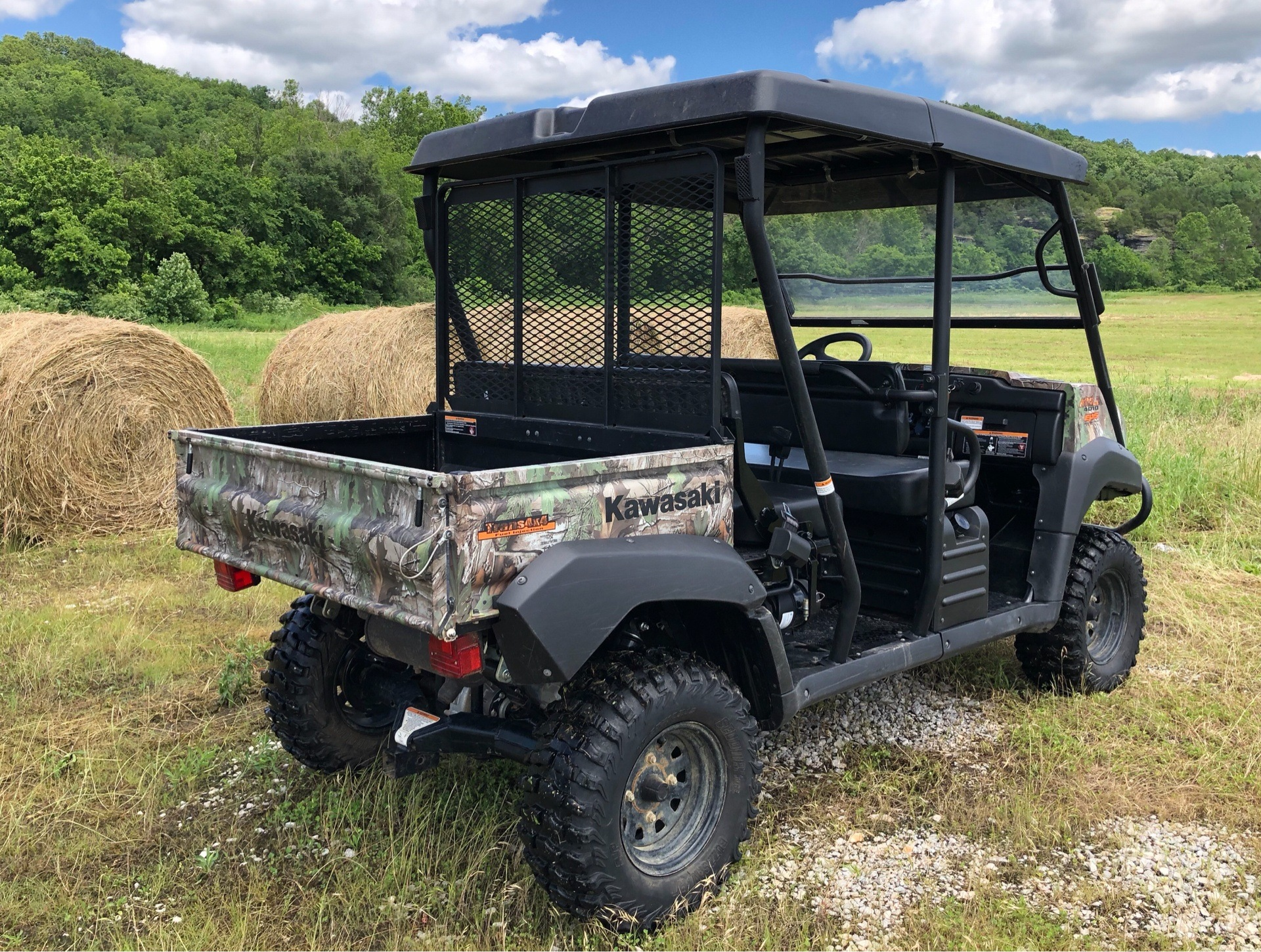 Used 2017 Kawasaki Mule 4010 Trans4x4 Camo Utility Vehicles