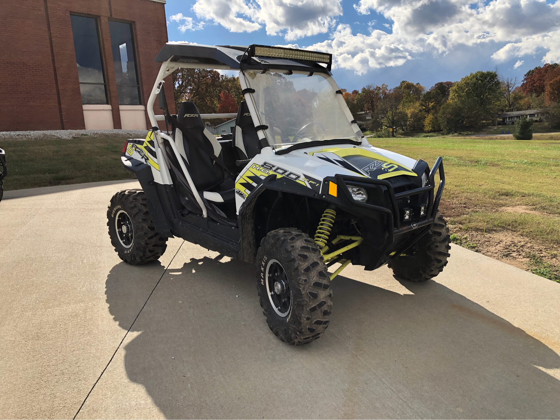 2014 Polaris RZR® S 800 EPS LE in Harrison, Arkansas