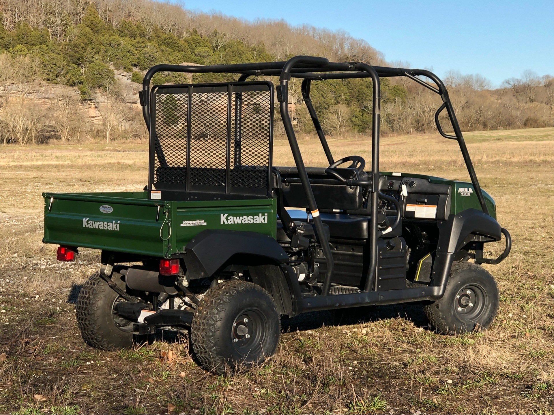 Used 2015 Kawasaki Mule™ 4010 Trans4x4® Utility Vehicles in Harrison