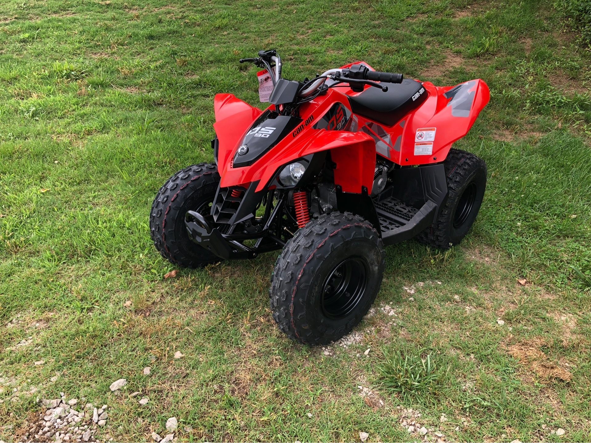 2019 Can-Am DS 90 in Harrison, Arkansas - Photo 2