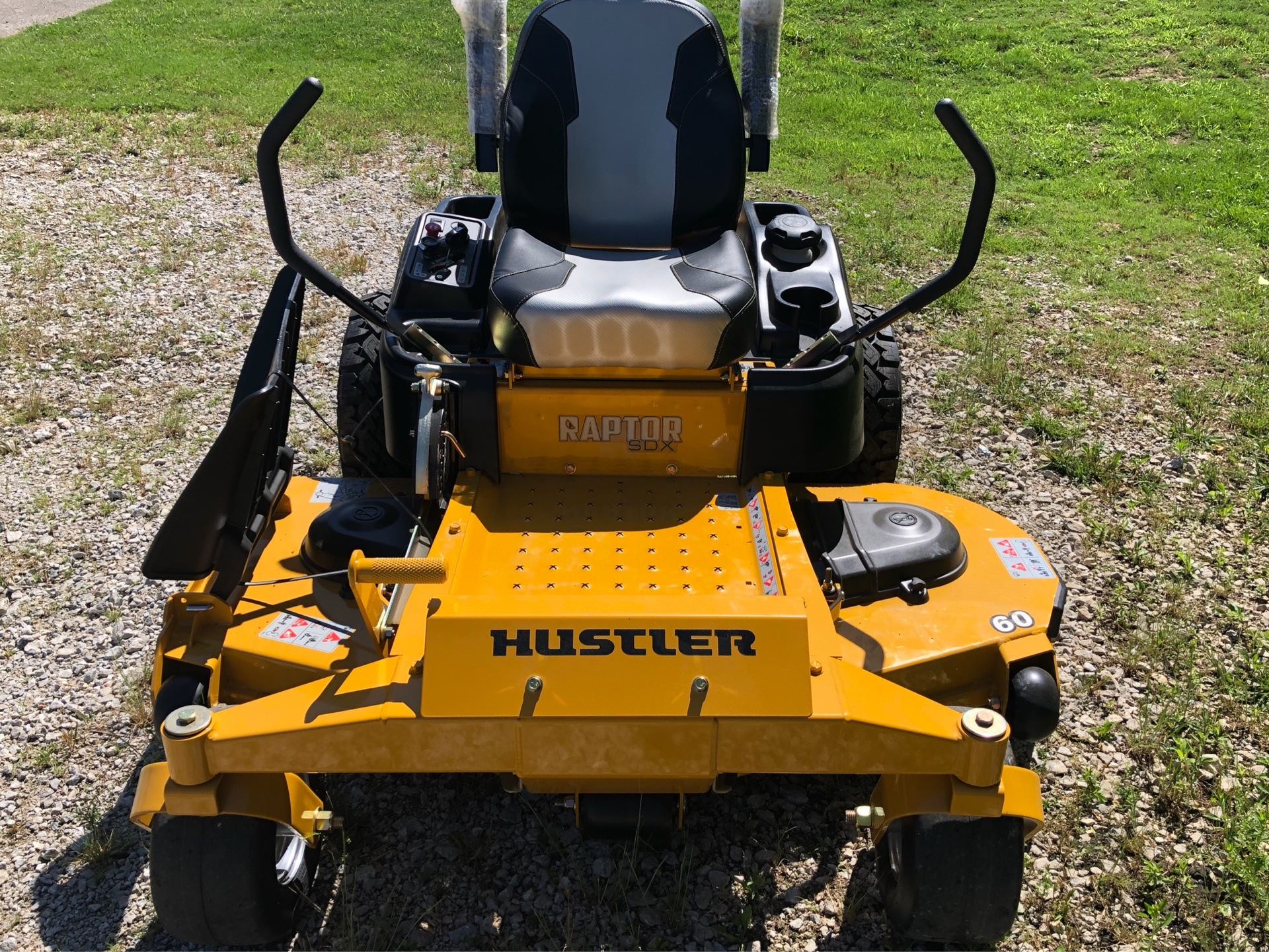 2019 Hustler Turf Equipment Raptor SDX 60' in Harrison, Arkansas - Photo 6