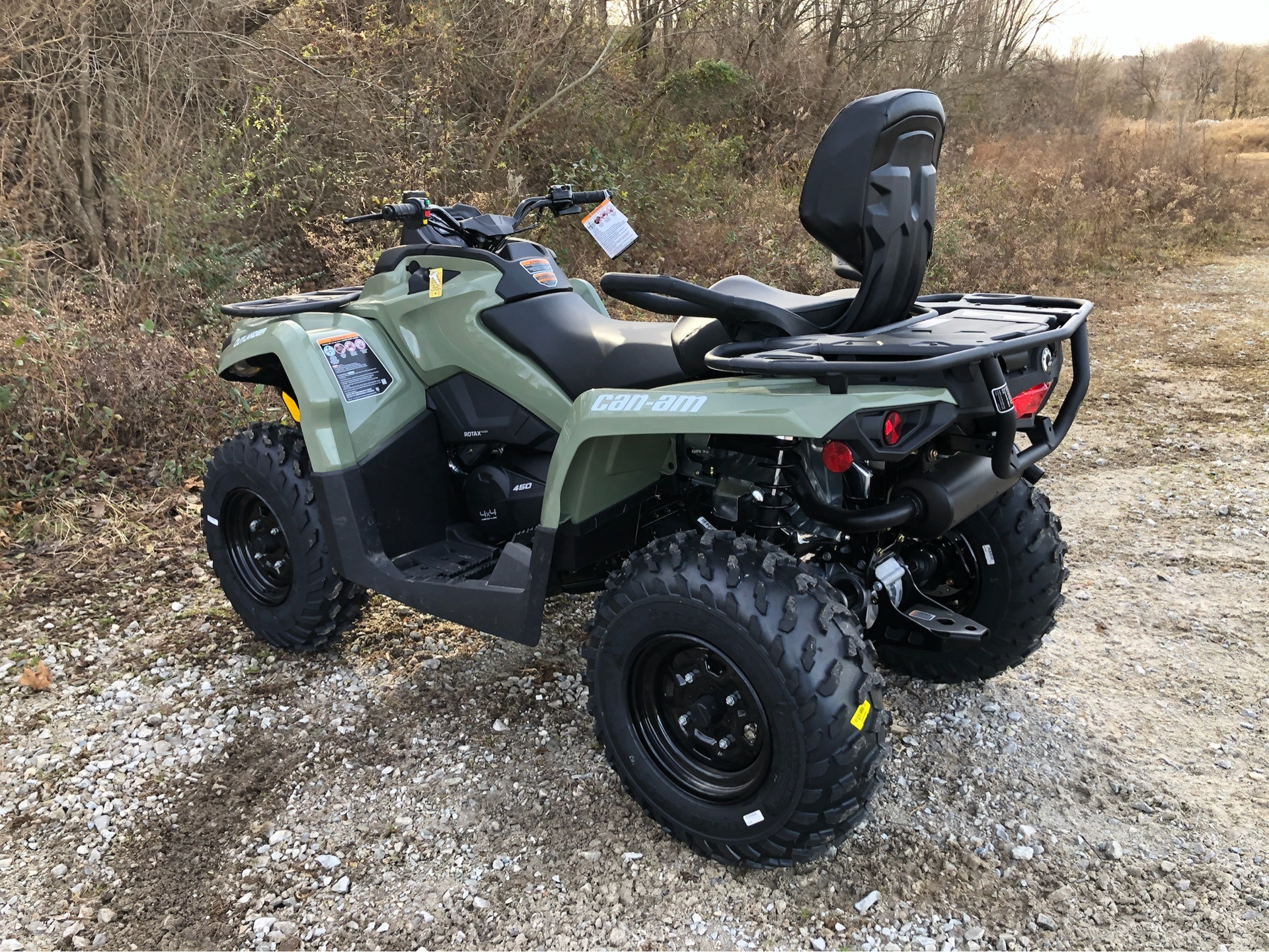 2020 Can-Am Outlander MAX DPS 450 in Harrison, Arkansas - Photo 4