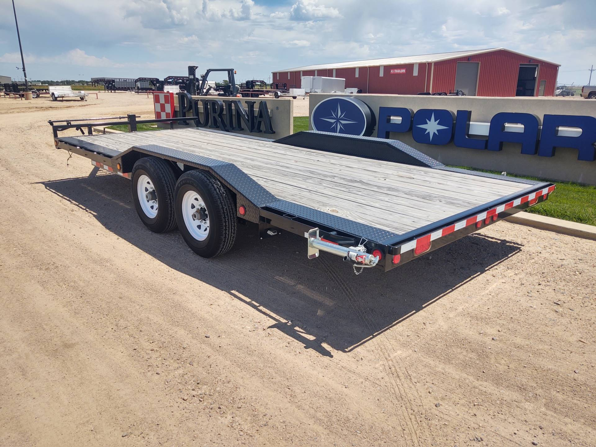 "2019 PJ Trailers 20'X6"" CHANNEL SUPER-WIDE in Montezuma, Kansas - Photo 7"