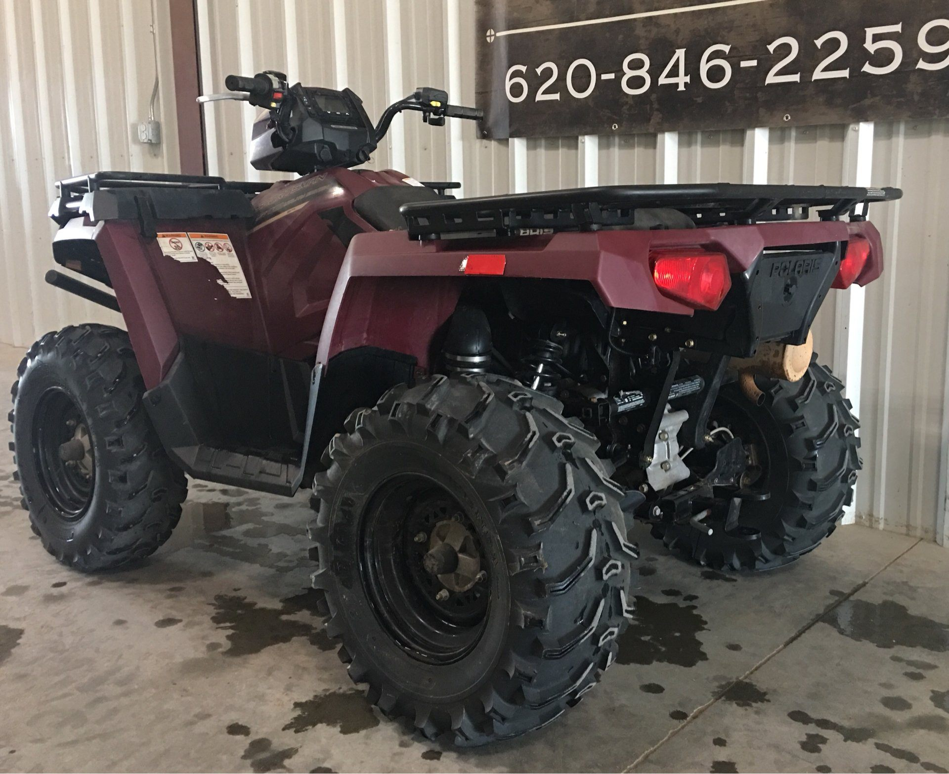 2017 Polaris Sportsman 570 EPS Utility Edition in Montezuma, Kansas - Photo 2
