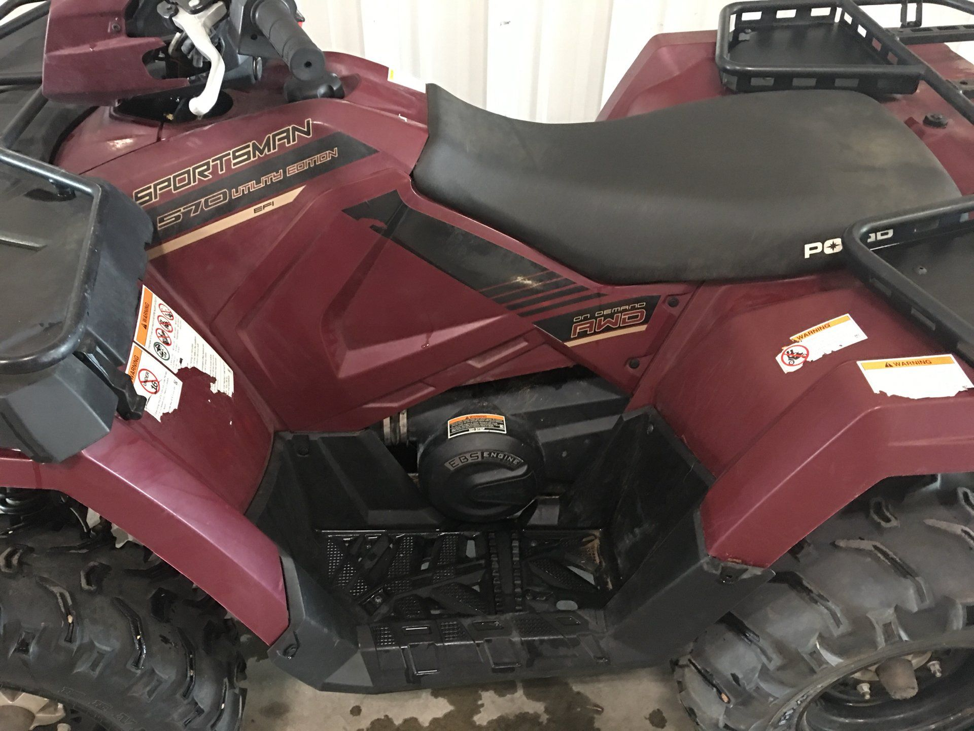 2017 Polaris Sportsman 570 EPS Utility Edition in Montezuma, Kansas - Photo 6