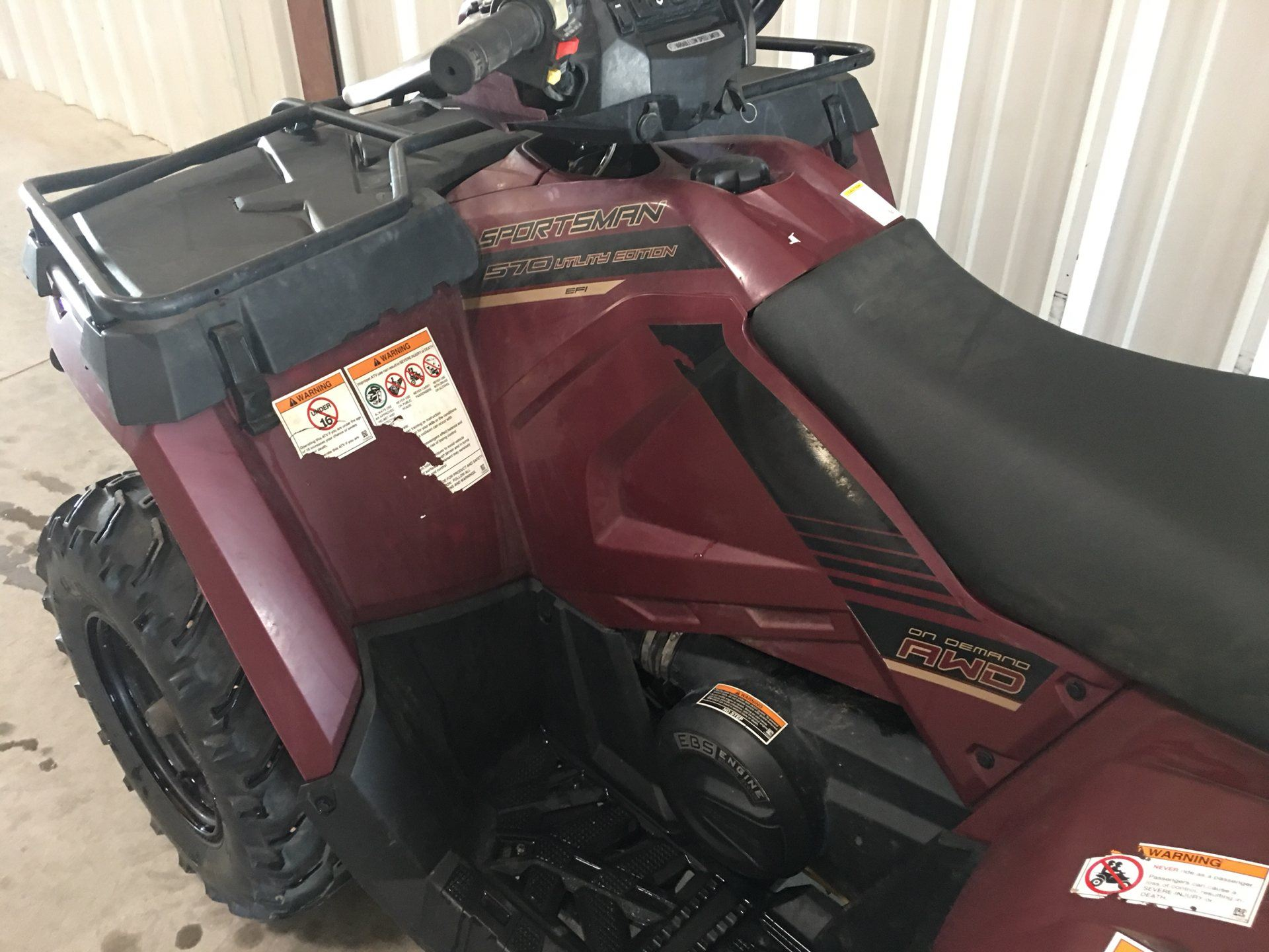 2017 Polaris Sportsman 570 EPS Utility Edition in Montezuma, Kansas - Photo 8