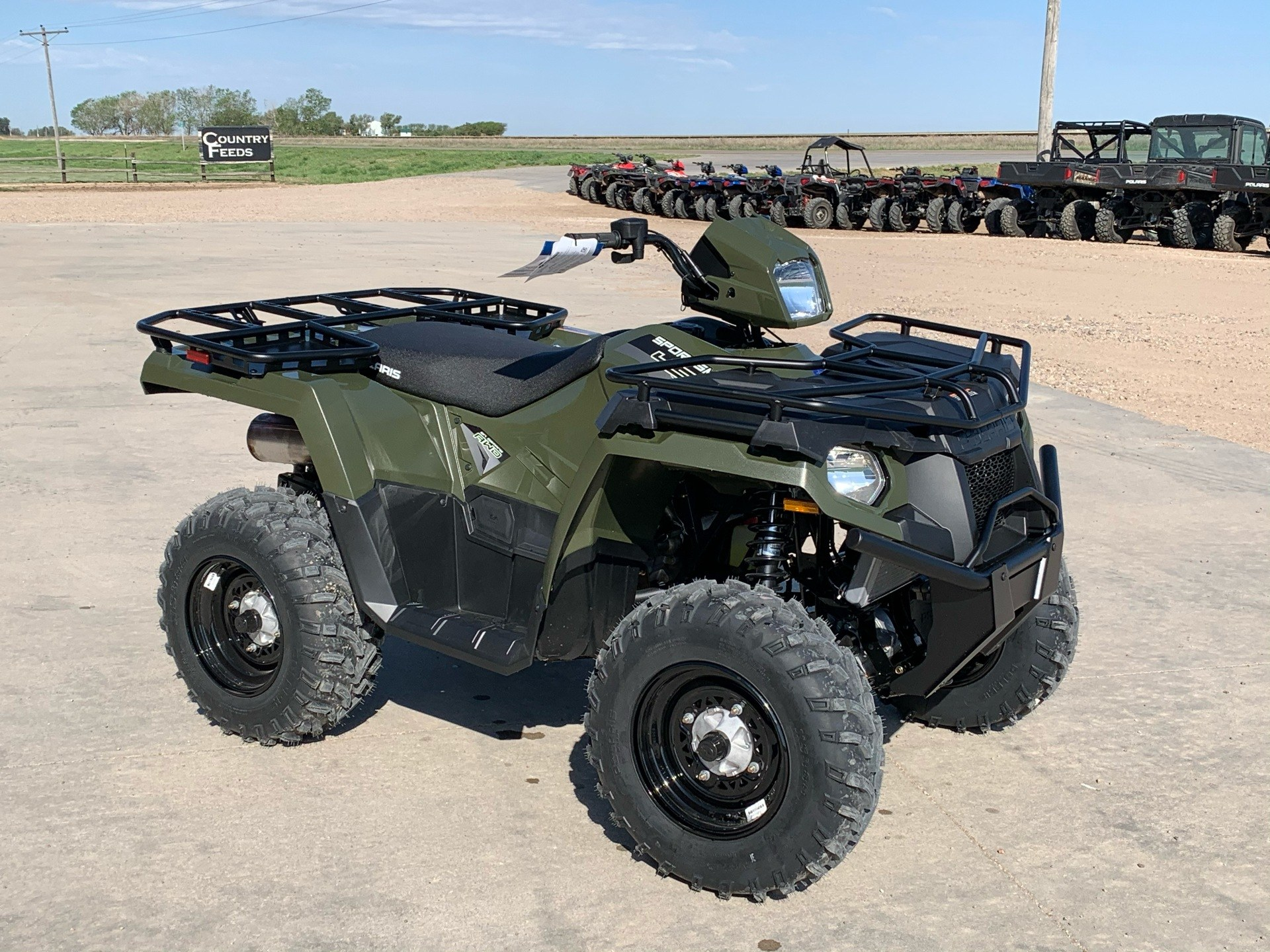2020 Polaris Sportsman 450 H.O. Utility Package in Montezuma, Kansas - Photo 4
